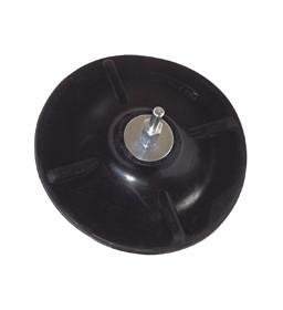 Platorello gomma per trapano mm. 125 - PG Poggi