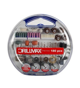 Accessori per minitrapano DrillMax pz. 180