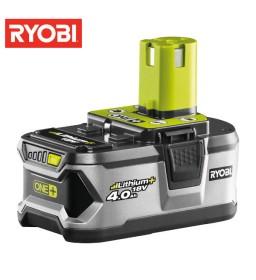 Batteria 18V 4.0Ah Lithium ONE+ RB18L40 - Ryobi