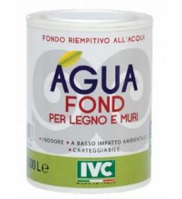 Fondo riempitivo Agua Fond per legno e muri - Bianco - Lt. 0,5