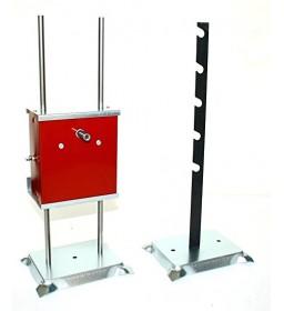 Girarrosto a Batteria - Batik + 2 spiedi ferro